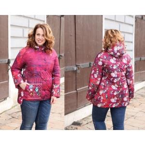 Куртка Птицы 14-размеры 50,52,54,56,58.