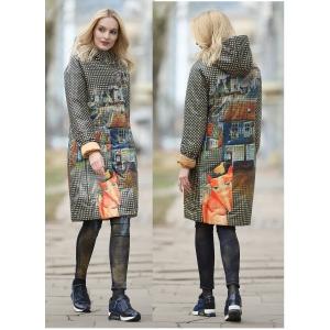 Пальто Лис 86-размеры 46,48,50,52.