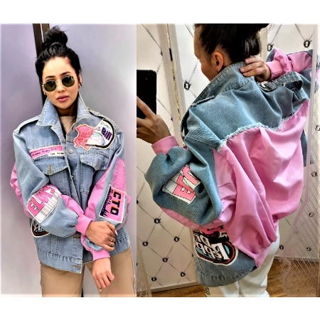Куртка MengQi 8856-размер единый(46-52).